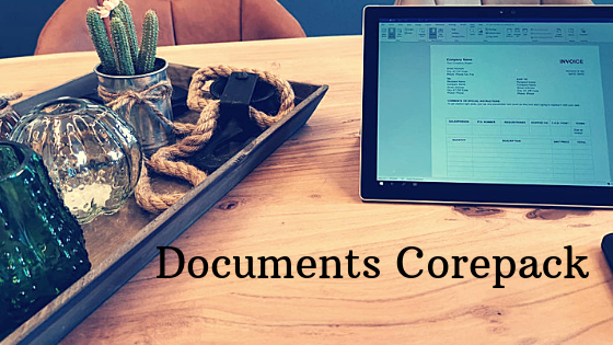 Documents Corepack - Dynamics 365